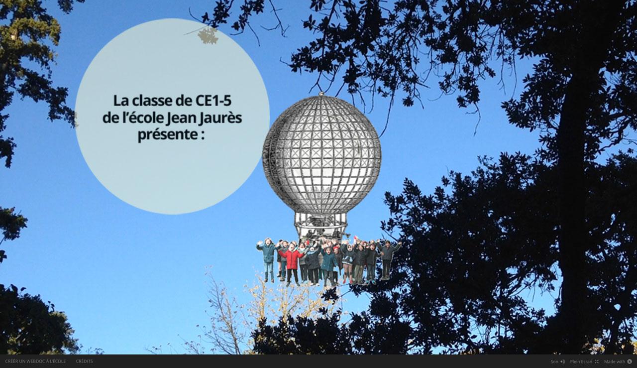 web-doc à l'école éducation à l'image et aux médias histoire de la ville de Toulouse Ecole élémentaire Jean Jaurès Toulouse