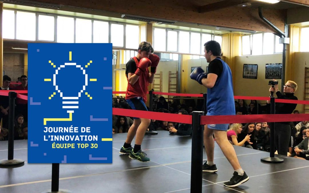 BOXE & PHILOSOPHIE DANS LE TOP 30 DE LA JOURNÉE NATIONALE DE L'INNOVATION