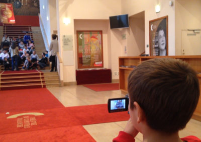 Les petits reporters culture #reportage #école